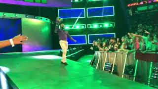 CEDRIC ALEXANDER New Cruiserweight Champion celebration entrance on 205LIVE 10.04.2018