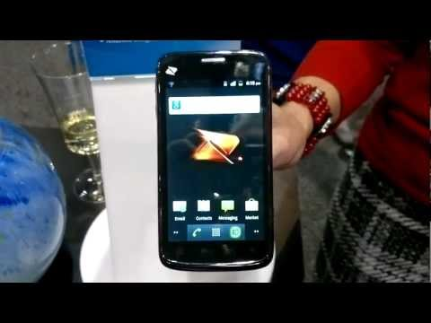 Boost Mobile ZTE Warp Android Phone Hands On