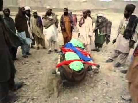 A Marri Baloch women killed in a military operaion in marri area.wmv