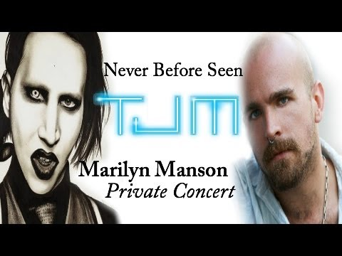MARILYN MANSON Private Concert Terence Jay Music