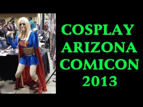 Amazing Arizona Comicon Costumes 2013 Cosplay