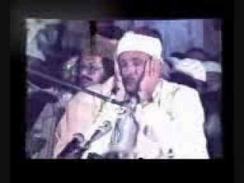 Beautiful Quran recitation Sheik Abdel Basit in Pakistan.