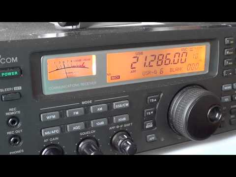 South african Amateur radio station
