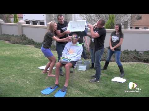 ALS Ice Bucket Challenge featuring Joost van der Westhuizen