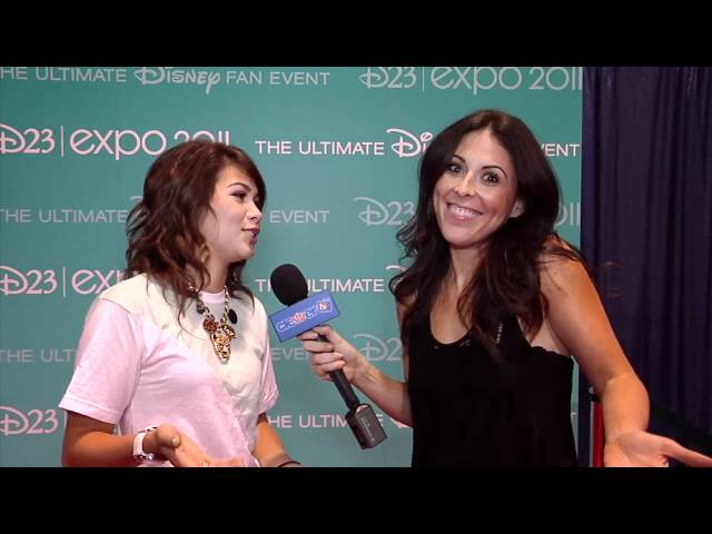 Hayley Kiyoko Dishes On 'Lemonade Mouth 2' at D23 Expo 2011