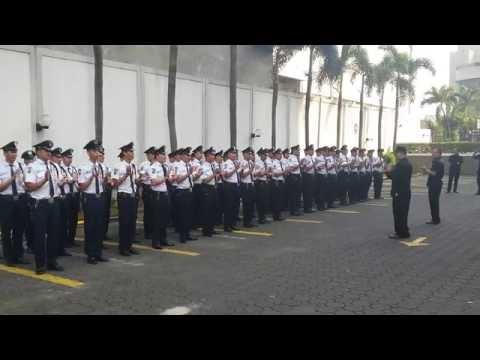 BCA KCU Matraman Security Yel Yel