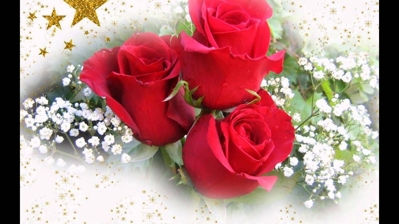Happy Birthday Rose Romantic Version Youtube