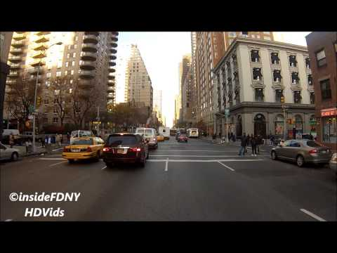 FDNY HD - Ride Along with Engine 22 to an ERS Box