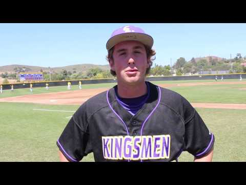 Baseball Post Game 6 SCIAC Tournament   May 3, 2015