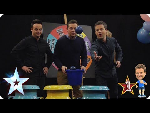 Ant Vs Dec The milk churn! fairground fantasy | Britain's Got More Talent 2013