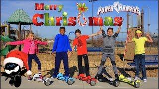 Power Rangers Ninja Kidz Christmas!