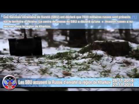 26 27 11 2014 Situation en Ukraine  Guerre en Ukraine