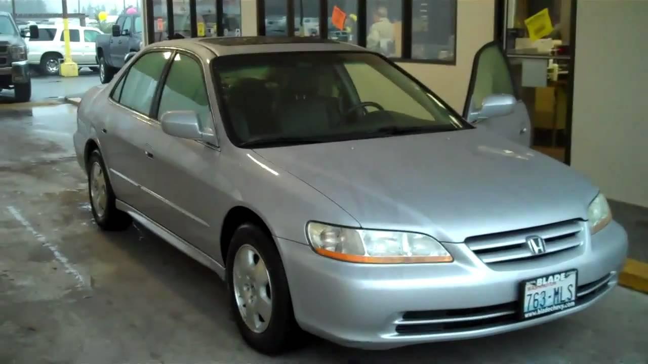 2002 Honda Accord Ex L Youtube