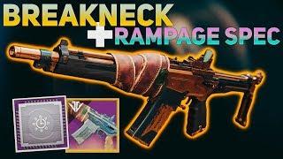 Rampage Spec + Breakneck (New Weapon Mod Breakdown) | Destiny 2 Black Armory
