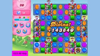 Candy Crush Saga Level 3418 NO BOOSTERS Cookie