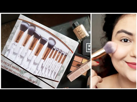₹549 Makeup Brushes from AMAZON INDIA !!  {DELHI FASHION BLOGGER}