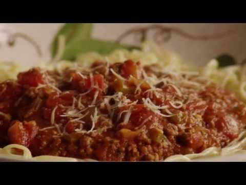 Beef Recipes - How to Make Spaghetti Sauce with Ground Beef