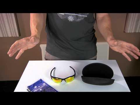 ASMR Unboxing + Oakley Flak Jacket Review XLJ Polarized Lens