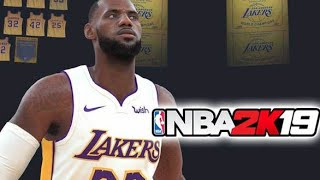 NBA 2k19 LAKERS VS SPURS // Highlight // Crossover