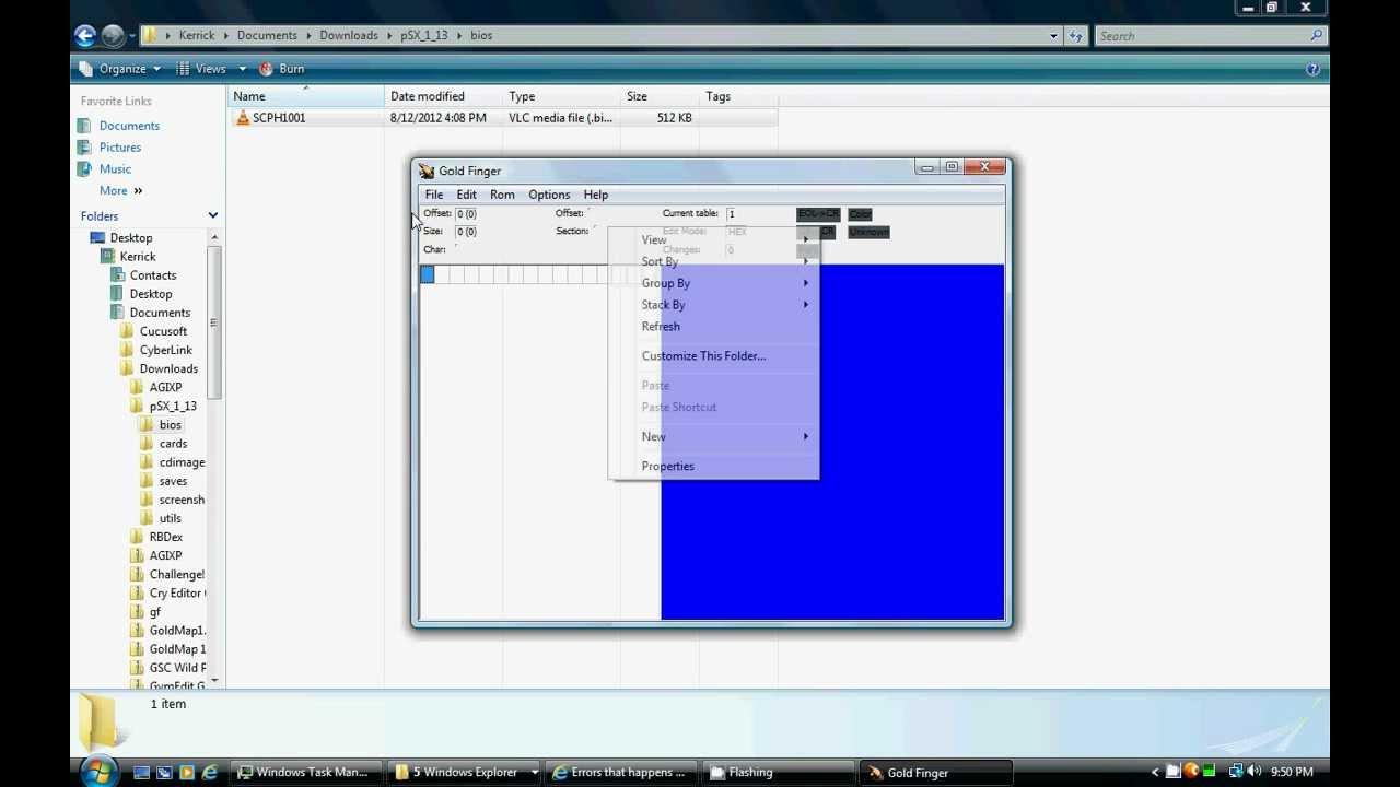 How to hack a PSX BIOS (.bin file) - YouTube