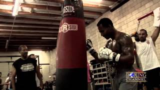 Sugar Shane Mosley talks about his upcoming match against Ricardo Mayorga