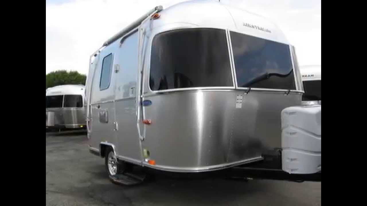 2014 airstream sport 16 bambi micro small rv camping trailer for sale nj youtube. Black Bedroom Furniture Sets. Home Design Ideas