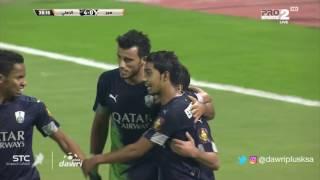 عمر السومة يسجل الهدف الرابع للأهلى
