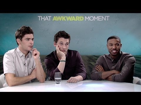 That Awkward Moment Interview With Zac Efron, Michael B. Jordan And More [HD]