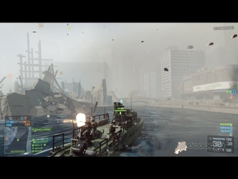 Battlefield 4 - Random Map Exploration of Shanghai Gameplay