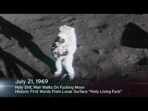 This Week In History: Holy Shit, Man Walks On Fucking Moon video