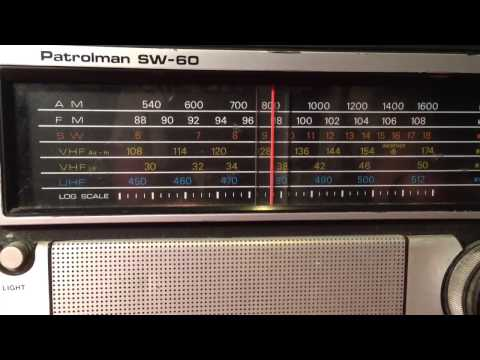 Patrolman SW 60 On Shortwave 6-18 MHZ