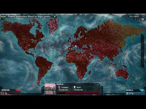 Plague Inc. Evolved Necroa Virus Normal Walkthrough