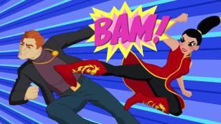 Héroe del mes  Lady Shiva   Episodio 226   DC Super Hero Girls