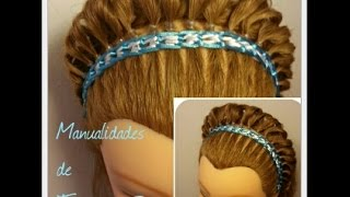 Encintado para Peinados -  Weave for a Hairstyle