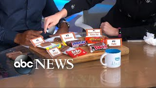 Michael Strahan and Sara Haines take the top Halloween candy taste test