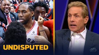 Kawhi made the luckiest shot in history of the NBA Playoffs — Skip Bayless | NBA | UNDISPUTED