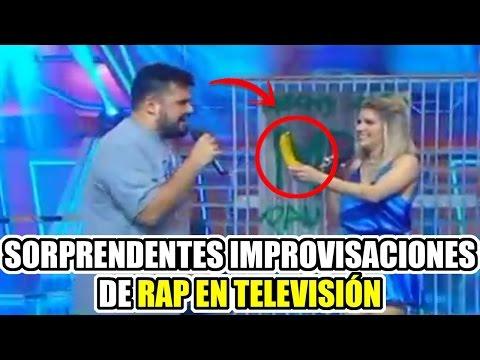 TOP 8 Más Sorprendentes Improvisaciones de Rap en Televisión