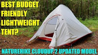 The BEST BUDGET Tent? Naturehike Cloud-Up 2 Lightweight 2-Person 4-Season Backpacking Tent