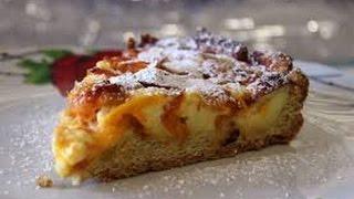 Пирог фруктовый. Очень вкусный  грушево-сливовый пирог.