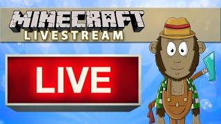 Minecraft LIVESTREAM (Replay) - Ender Dragon Fight & Ender XP Farm!