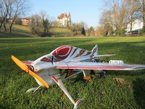 TECHone Venus 3D Pro first flight RC Acro model ready2fly EPO