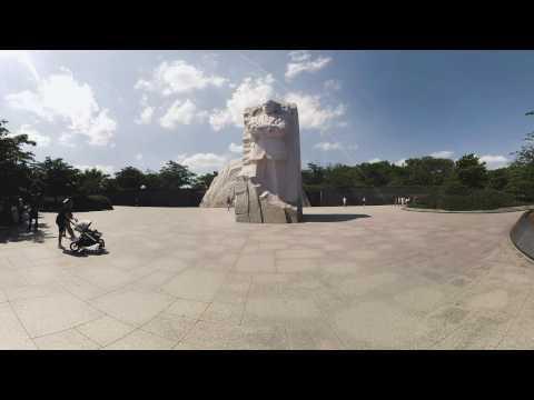Martin Luther King, Jr. Memorial    Washington, DC 360 Video