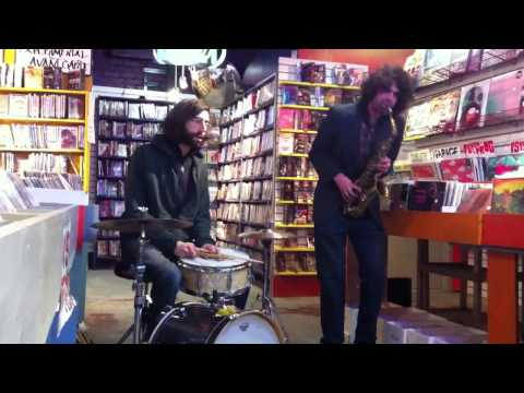Brian Chase & Seth Misterka Duo LIVE at Kim's Video & Music