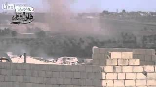 Syrian Sunni Arab citizen soldiers attack assad regime occupation outpost: Idlib Governorate
