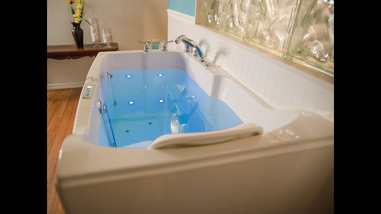 introducing the blue spring walk in tub from premier care in bathing youtube