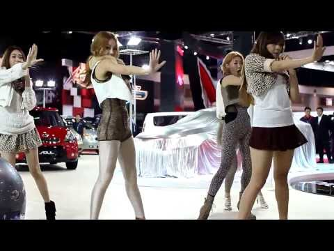 Bangkok Motor Show 2011 – Kia show – G20 Thai Girl Group