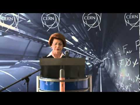 Androulla Vassiliou, EU Commissioner for Education, visits CERN in Geneva