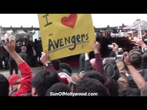 Robert Downey Jr. Arrives In Style At The Avengers Premiere