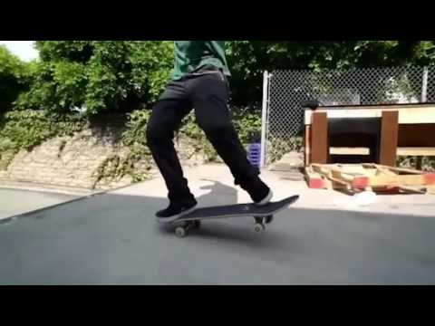 Carlos L. Treflip Hippy Jump to Nose Manny Nollie Flip // 2016 TOTY Kelly Approved