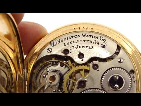 Hamilton Pocket Watch - Lancaster, PA 1916